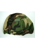 Tactical Helmet Cover Type B-Woodland Camo