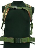 3-D Molle Assault Tactical Backpack-Woodland Camo