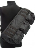 Assault Tactical Shoulder Go-Pack Bag