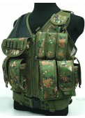 Tactical Vest Digital Wooland Camo
