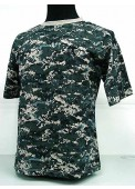 Camouflage Short Sleeve T-Shirt Digital Urban Camo