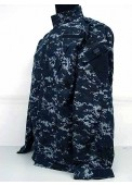 Combat Uniform Digital Blue Camo