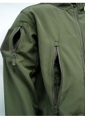 Sharkskin Parka Soft Shell Waterproof Jacket Olive Drab