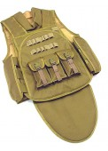 Four In One Tactical Vest Airsoft Paintball Combat Assault Vest