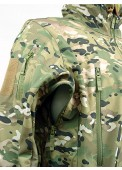 Sharkskin Parka Soft Shell Waterproof Jacket Multi Camo