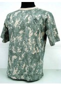 Camouflage Short Sleeve T-Shirt Digital ACU Camo