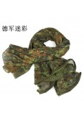 Tactical Mesh Net Camo Multi Purpose Scarf For Wargame,Sports & Other Outdoor Activities