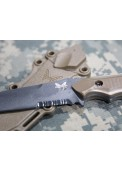 Butterfly 141 Style Tactical Straight Knife Model