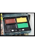 Military Camouflage Oil Painting  Compact With 4 Colors