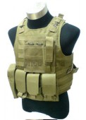 Military MOLLE Assault Tactical Fighting Load Vest