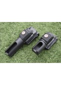 ABS Plastic Roating Police Stick Holster Flashlight Holster  ESP style Holster