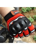 Fashion Half Finger Motorcycle Gloves, Racing Driver Riding Gloves