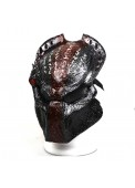 High Quality Carbon Fiber Alien Face Mask For Cosplay Airsoft Tactical Mask