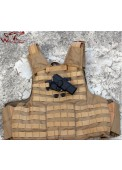 LN 92 Style IMI Rotation Quick Draw Chest Holster For Right Hand
