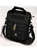 Hot sell Tacitcal vertical Laptop bag BK