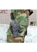 LN92 Blackhawk Quick Draw Under Layer Waist Holster For Right Hand Pistol Holster