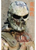 Camouflage M06 Python Evil Face Mask For Villains Cosplay Full Face Mask