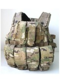 Multi Camo Armor Tactical Vest For Airsoft Military Use