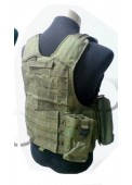 Olvie Drab Army Tactical CIRA Armor Vest Airsoft Vest