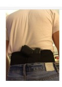Tactical Adjustable Belly Band Waist Pistol Gun Holster With Double Magazine Pouches