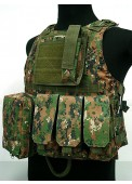 USMC Molle Combat Assault Plate Carrier Vest