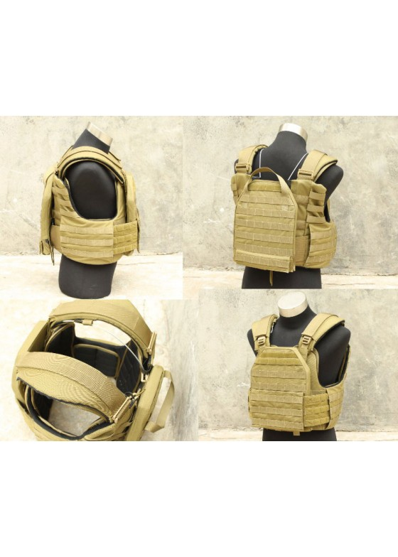 Cordura CAG Armor Chassis Tactical Vest With Dummy Plate